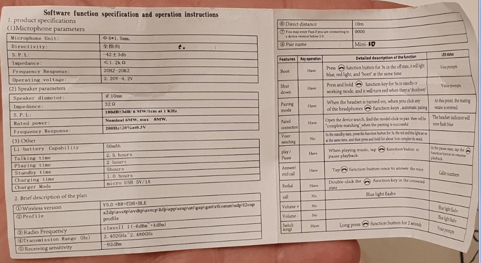 инструкция i10 mini